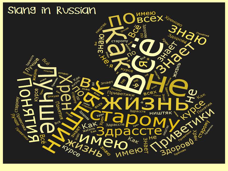 Derogatory term for gay in russian